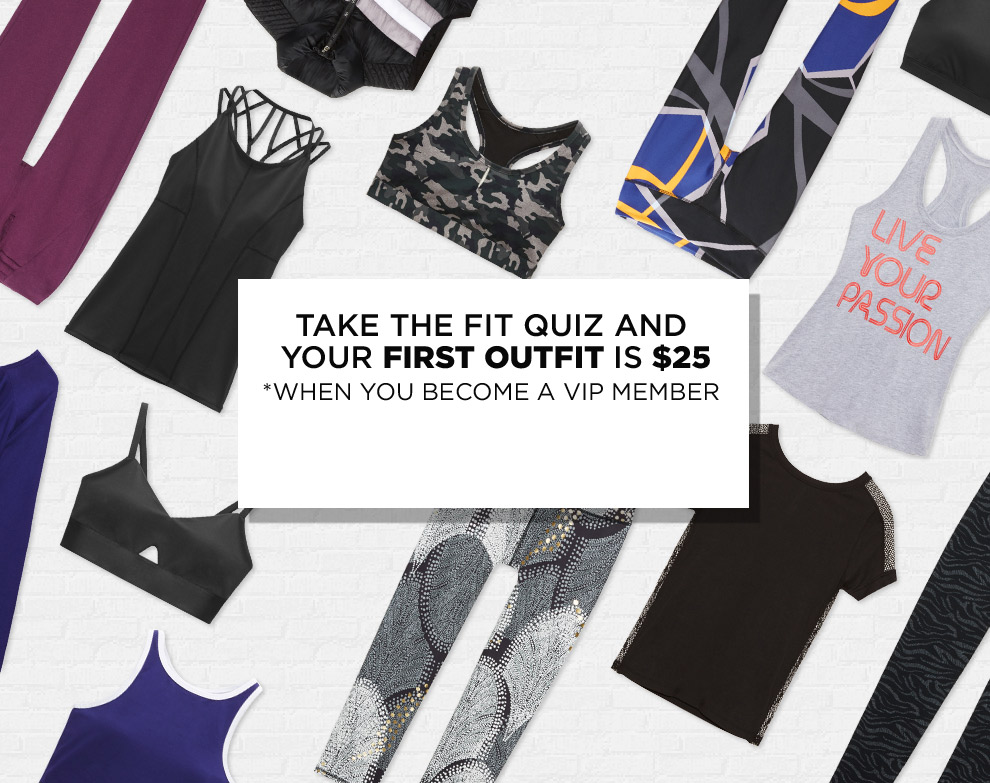 Take The Fit Quiz