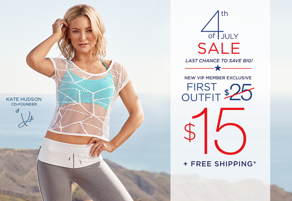 Get Your First Outfit For $15 Plus Free Shipping