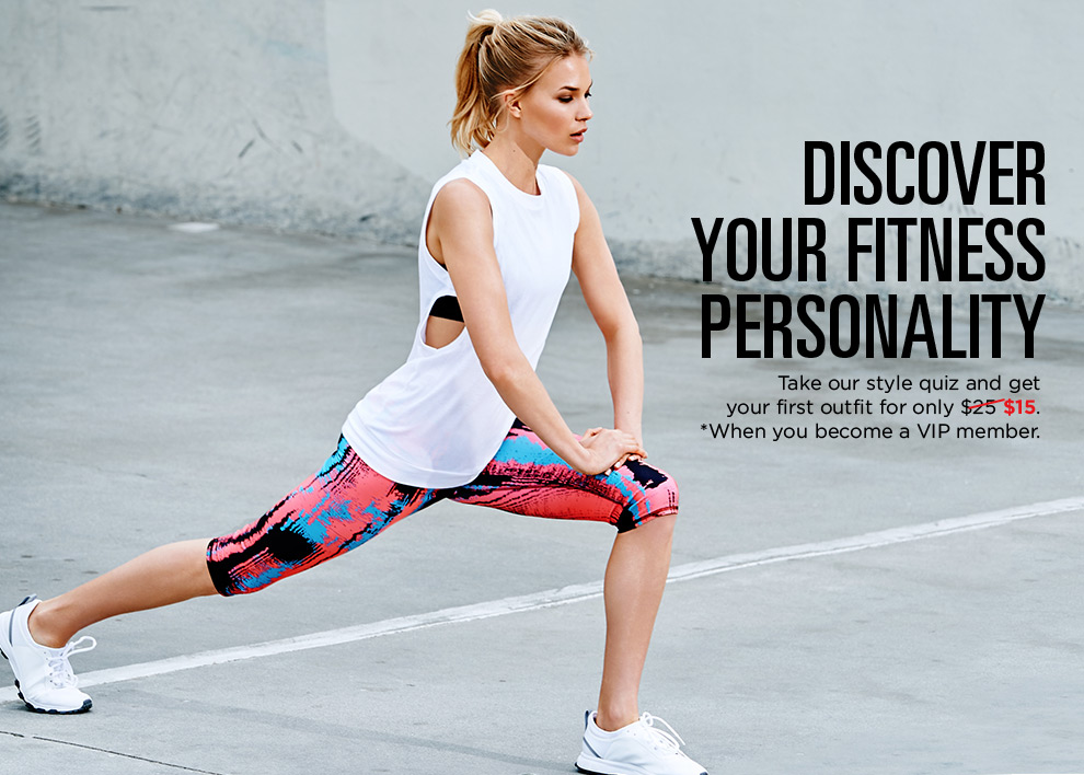 Discover Your Fitness Personality