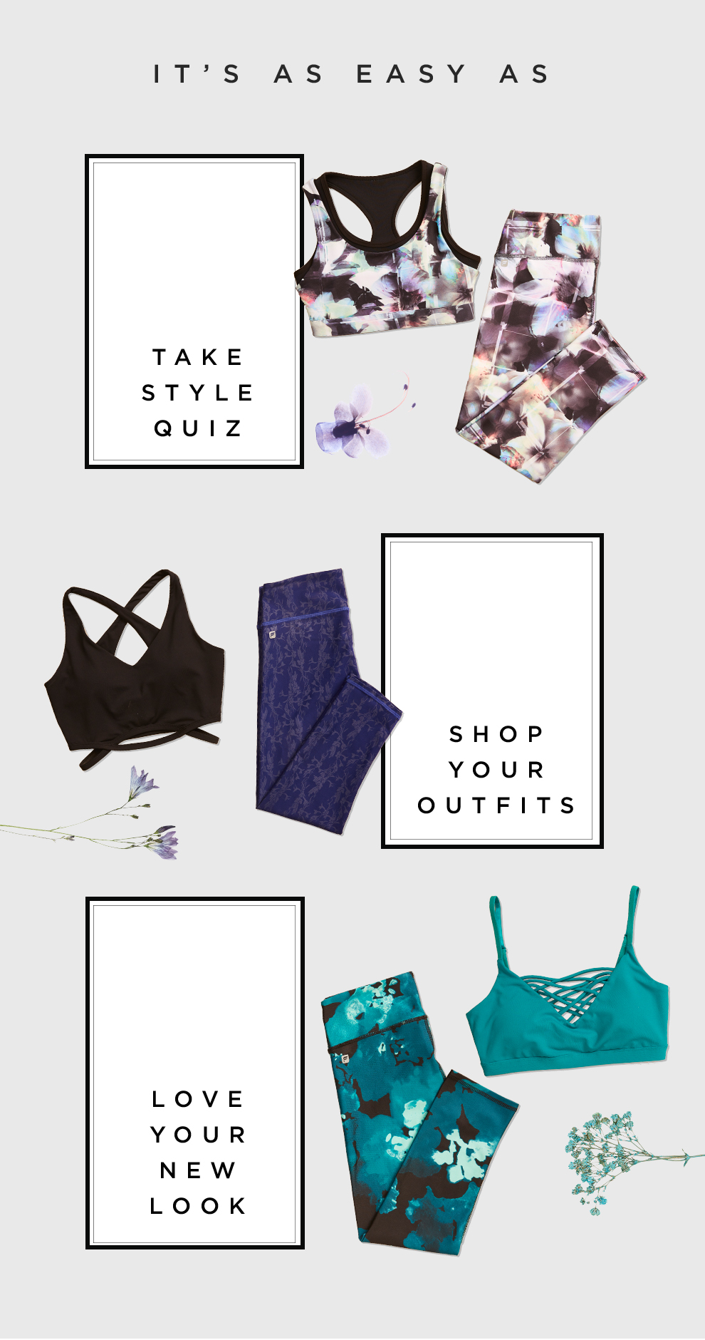 Get Personalized Workout Outfits Picked For You - Take Our Quiz!
