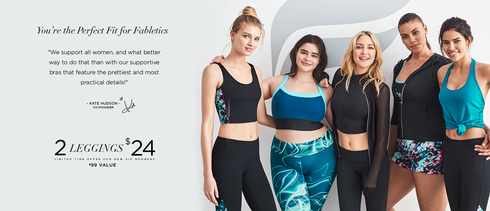 You're The Perfect Fit For Fabletics