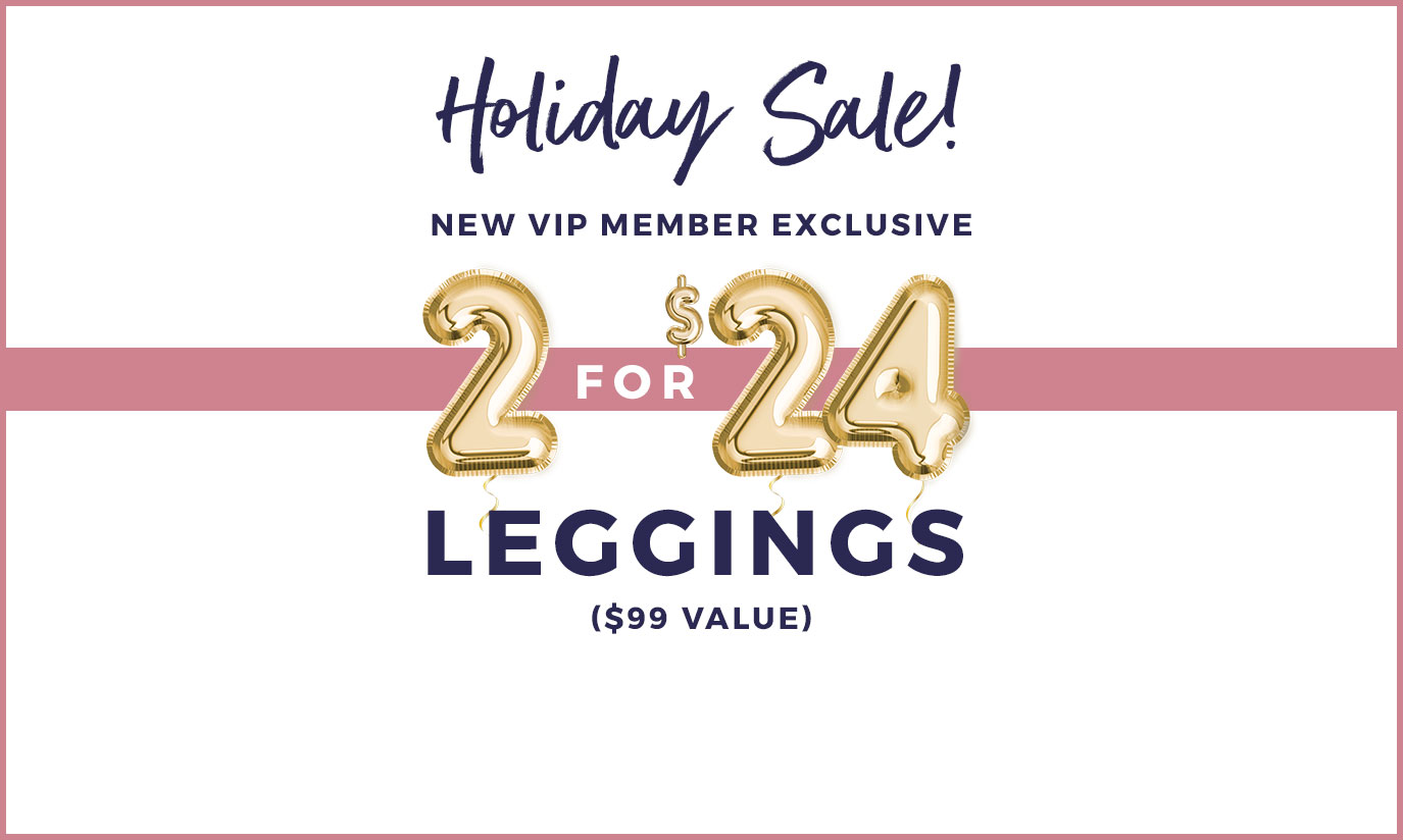 cyber month sale 2 leggings for 24