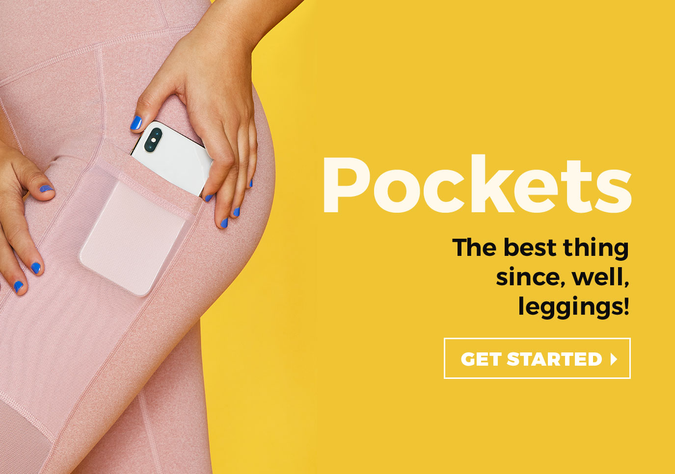 Pockets. The best thing since, well, leggings!