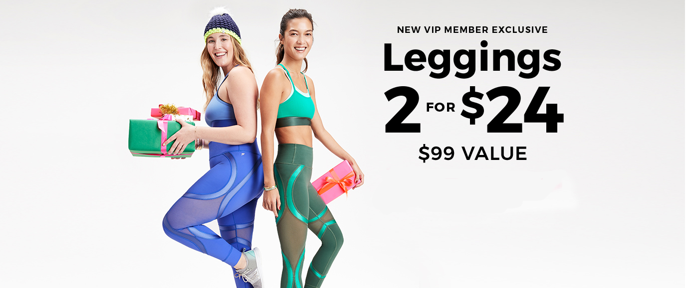 LEGGINGS 2 FOR $24