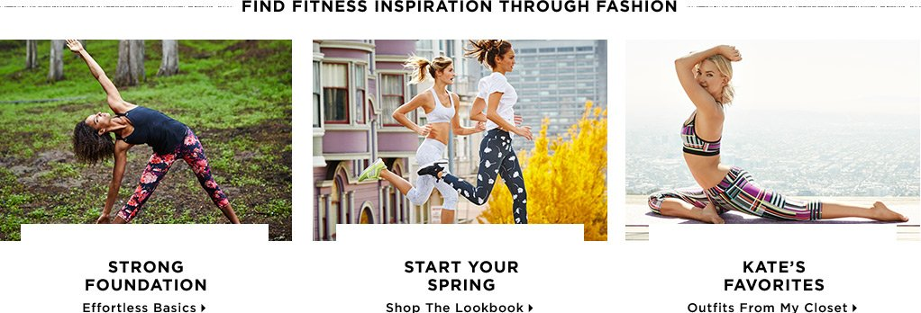 Find Fitness Inspiration Through Fashion