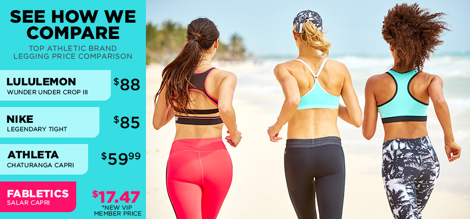 2754287fd7675 Affordable Women's Yoga & Workout Clothes | Fabletics by Kate Hudson