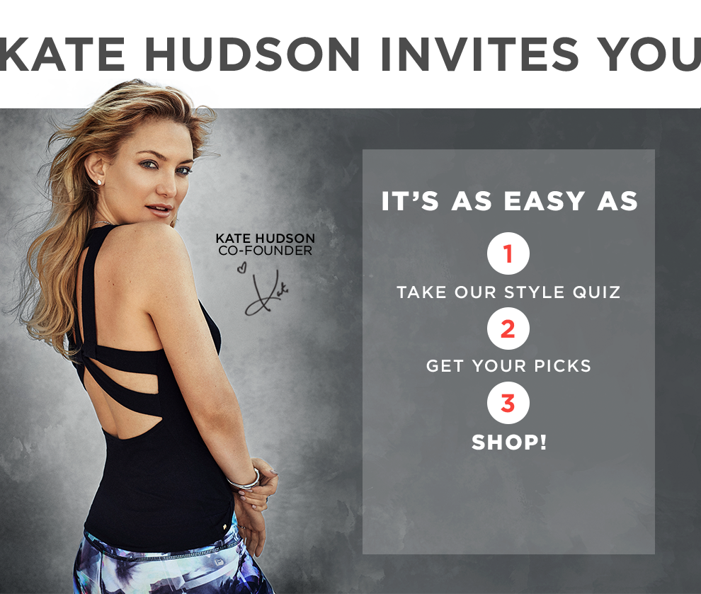 Get Personalized Workout Outfits Picked For You – Take Our Quiz!