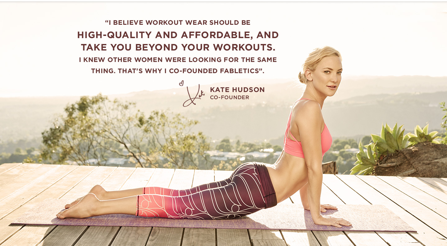 I believe workout wear should be high Quality and Affordable, and take you beyond your workouts.
