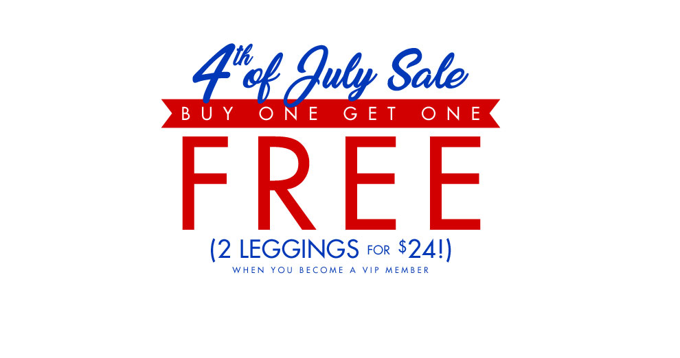 4th of July Sale 2 Leggings $24