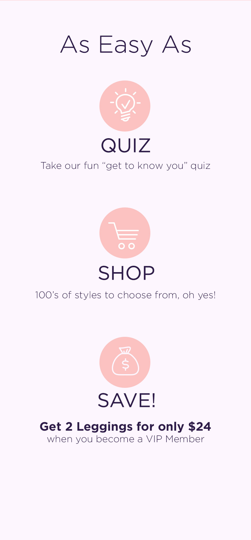 As Easy As.. Quiz.. Shop.. Save..