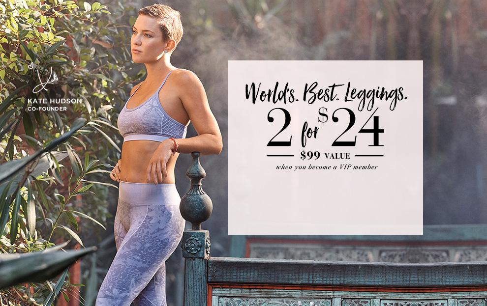 World best leggings 2 for 24$