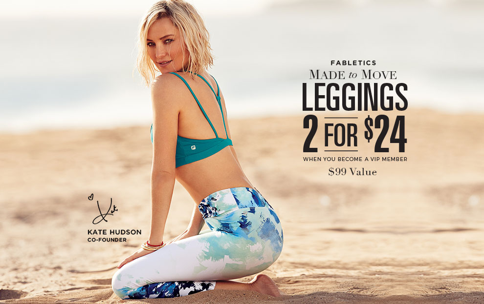 Fabletics: 2 for $24 is Back!