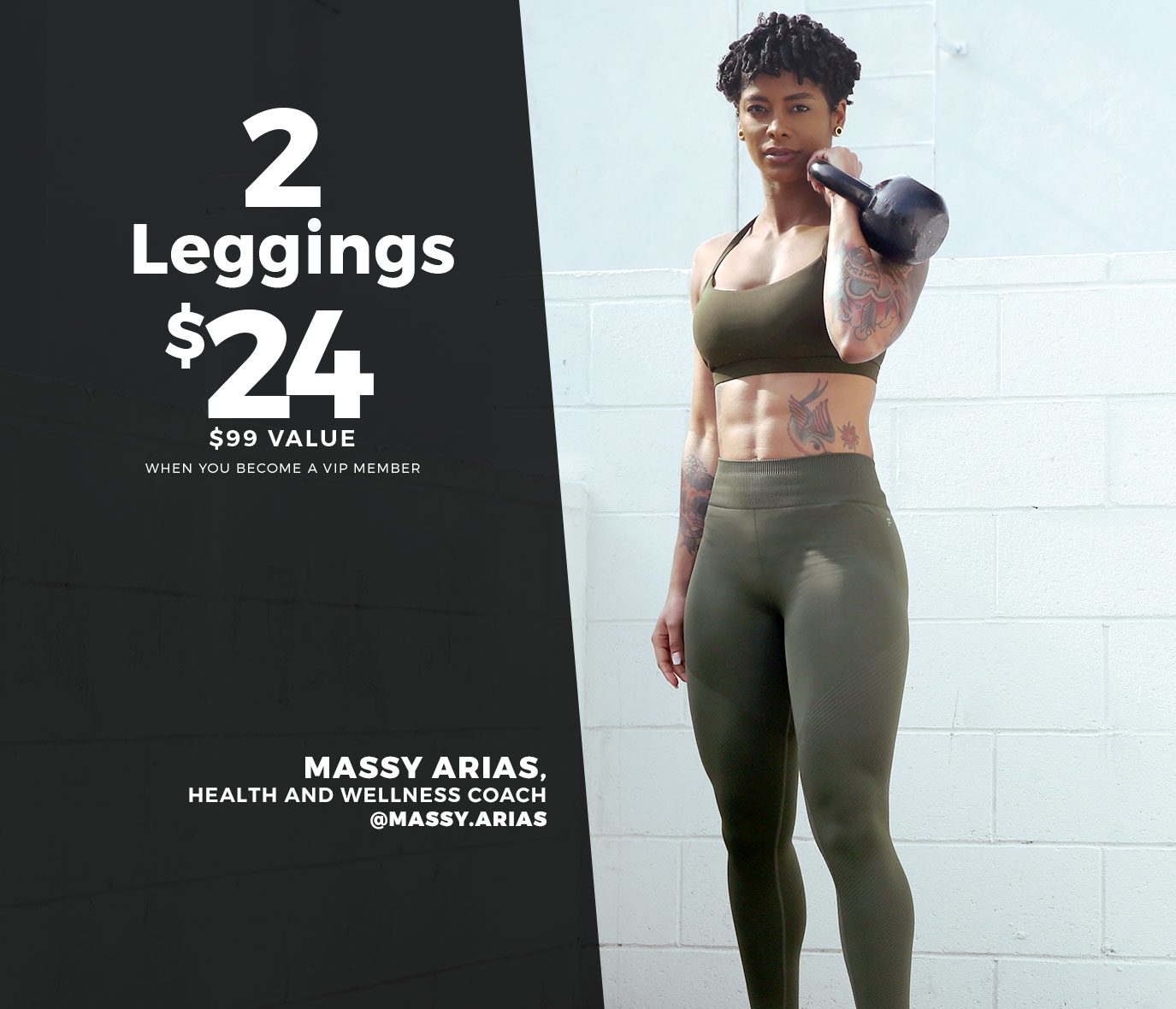 2 Leggings For $24 | Massy Arias - Celebrity Trainer