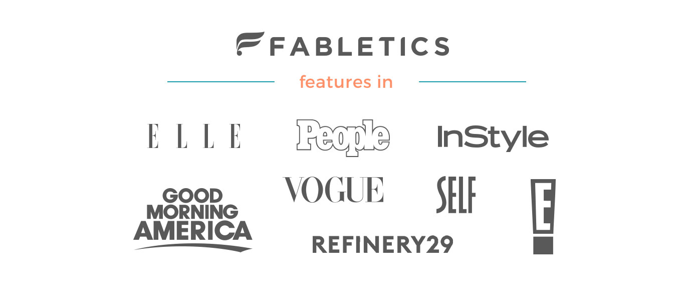 Fabletics Features In...