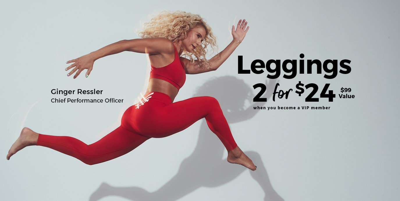 2 Leggings For $24 | When You Become a VIP Member