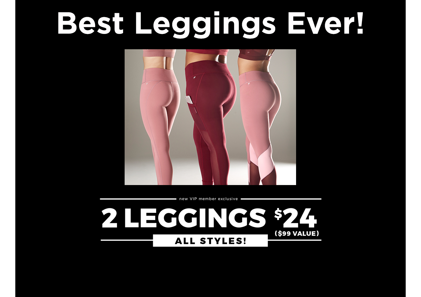 Leggings. 2 For $24