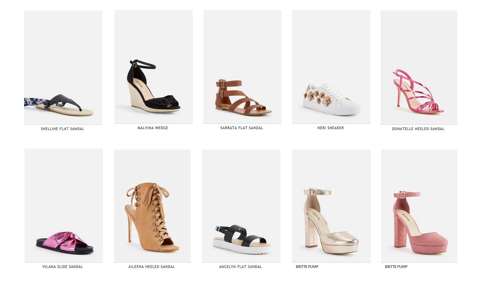 magasin d'usine 94121 bfc6b JustFab: mode, chaussures et sacs à petits prix en ligne