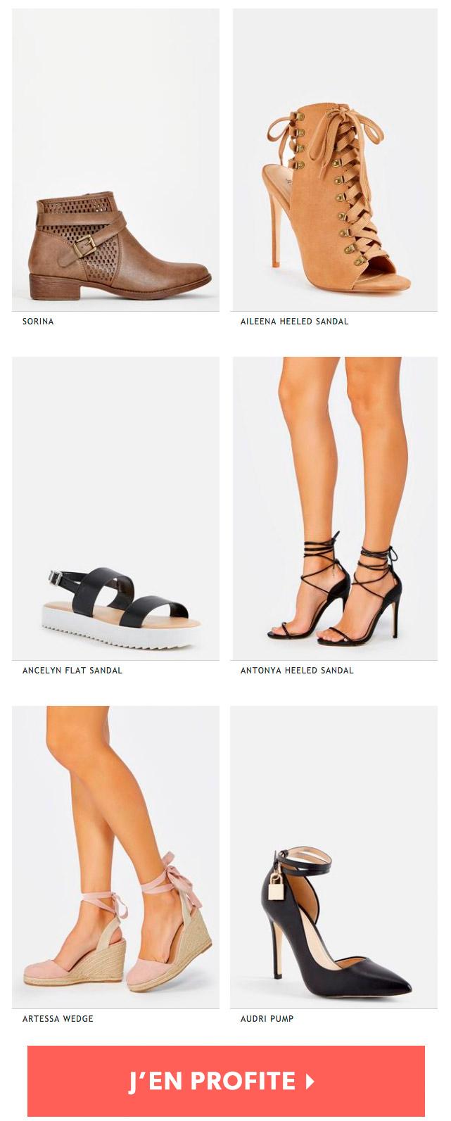 JustFab: mode, chaussures et sacs à petits prix en ligne