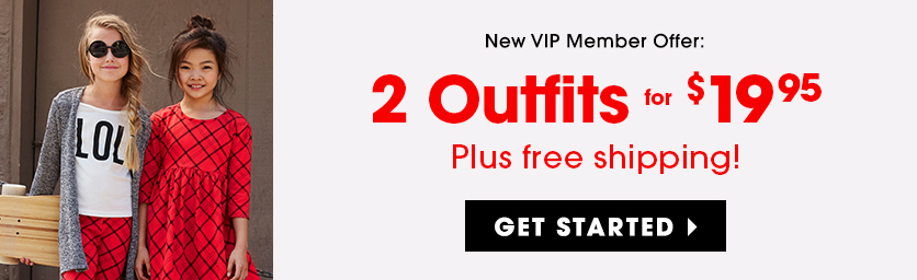 New VIP Member Offer: FabKids Outfit 2 for $19.95! Plus Free Shipping!