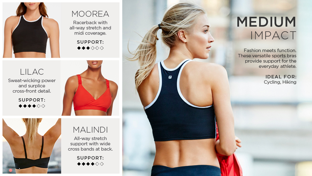 Sports Bras - Low, Mid & High Impact | Fabletics