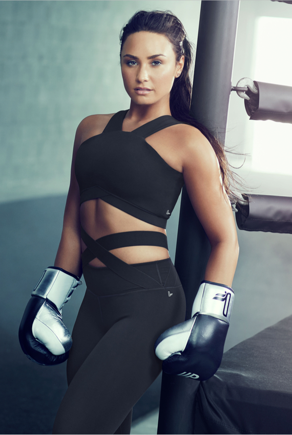 demi lovato fabletics limited edition workout clothes. Black Bedroom Furniture Sets. Home Design Ideas