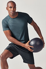 Male model wearing fabletics