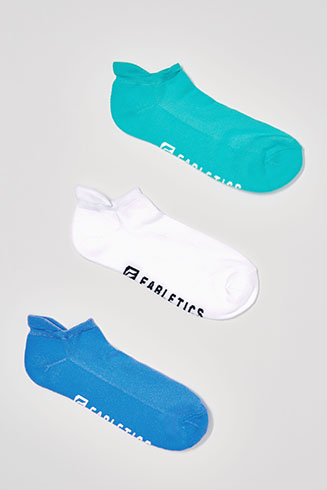 The No Show Socks (3-Pack)