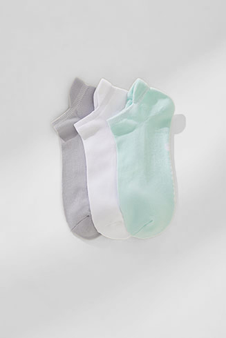 The No Show Sock (3-Pack)