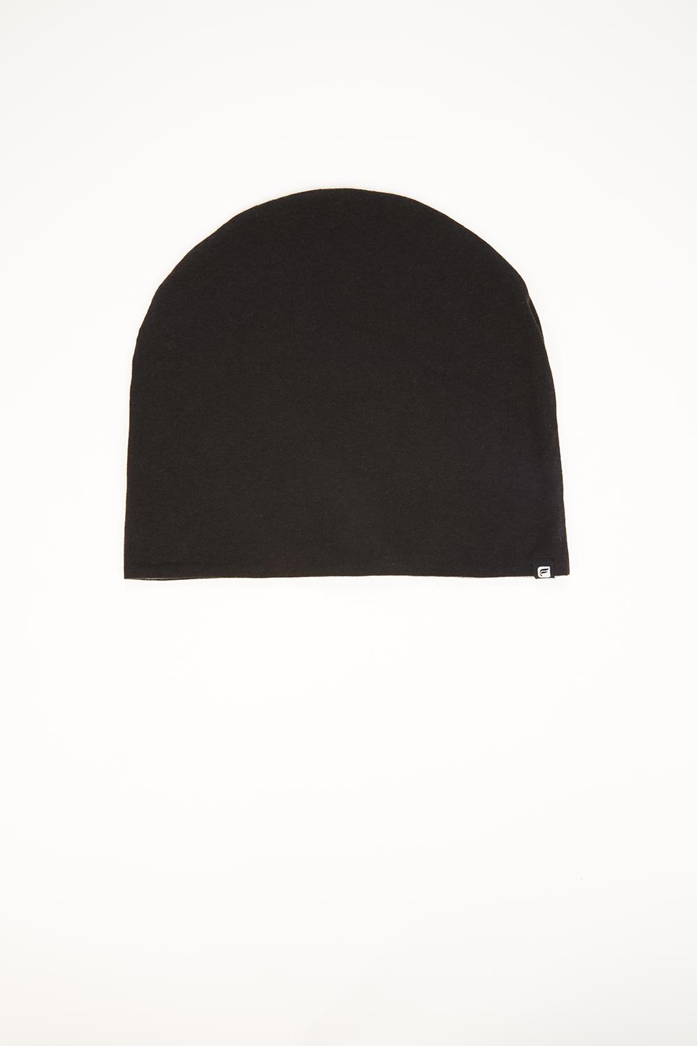 7881cd82 The Reversible Jersey Beanie - Black/Grey Heather