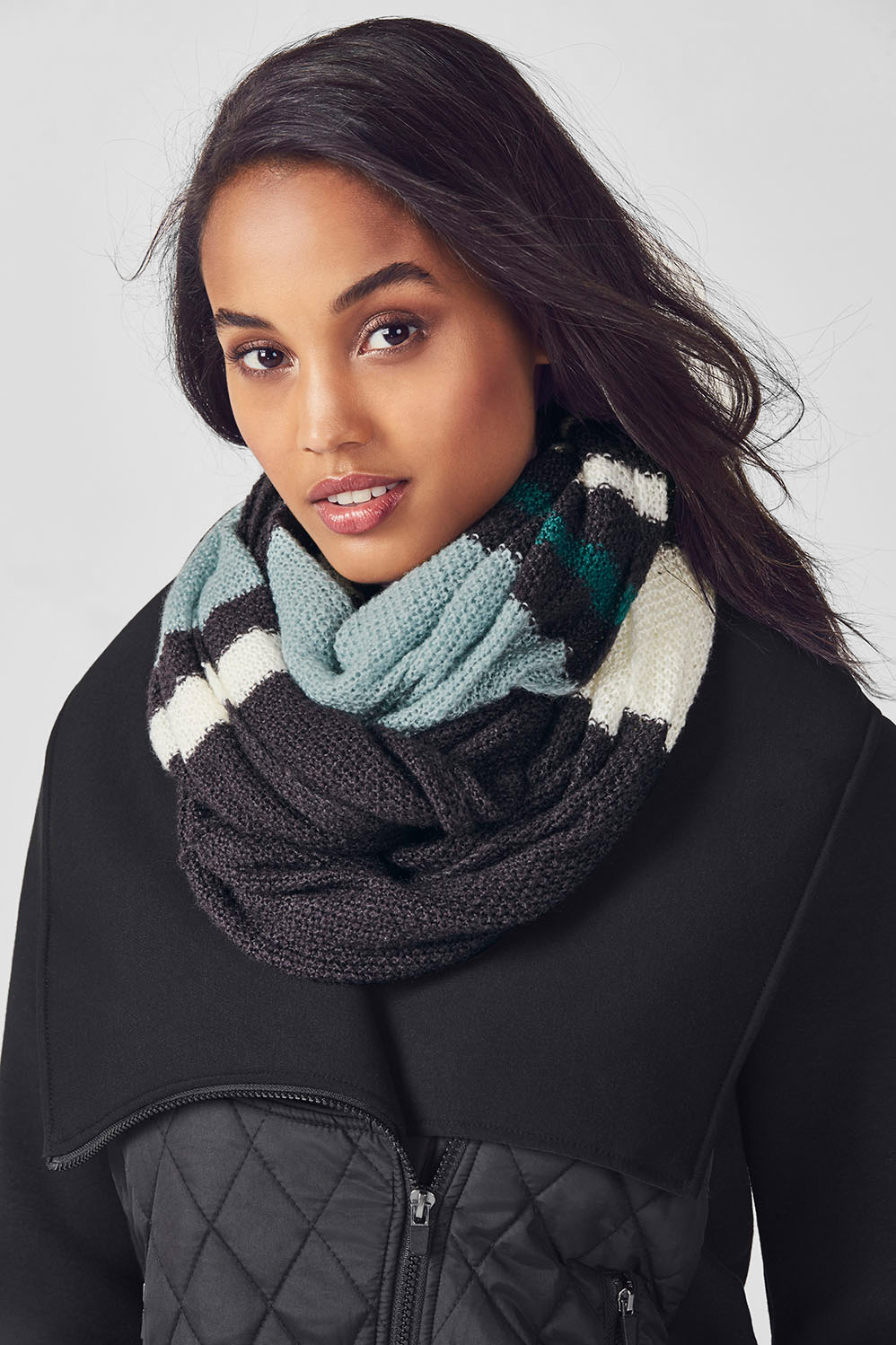 The Pearl Knit Infinity Scarf Fabletics