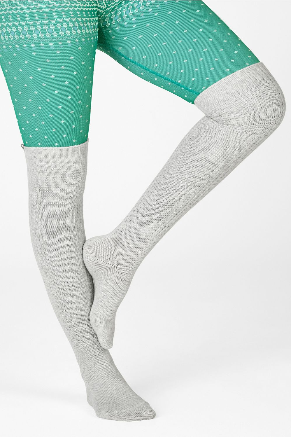 These statement-making, thigh-skimming socks look just as cute at home (paired with a sweet onesie) as they do layered under knee-high boots on your next night out.