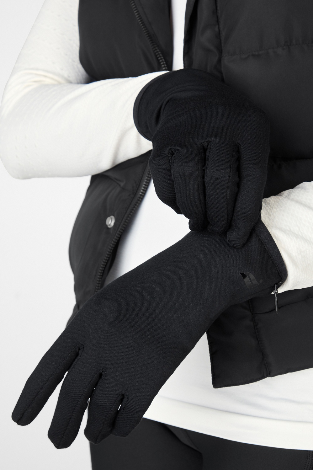 Keep your paws warm in our super-soft fleece gloves with stylish button closures.