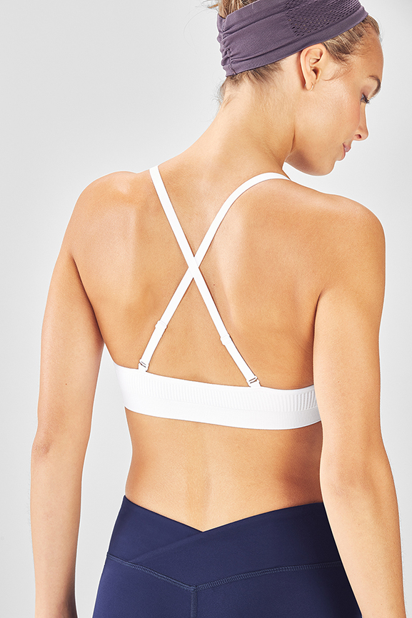 2adef596aa Hudson Convertible Seamless Bralette - Fabletics
