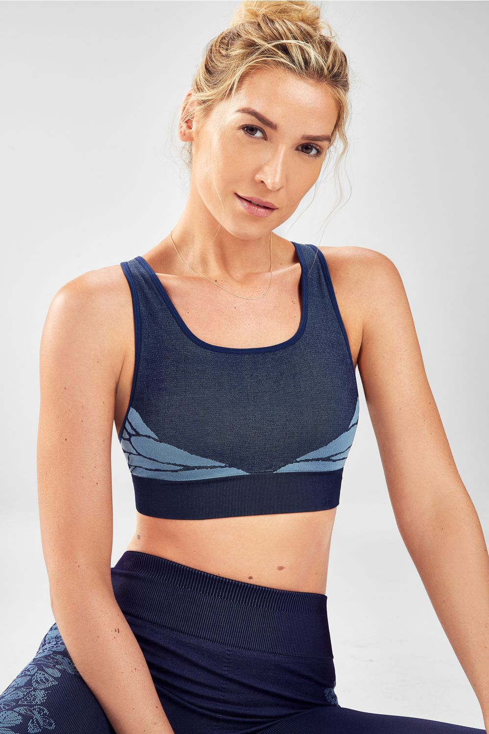 fb949264d9974 Eliza Seamless Sports Bra - abyss butterfly