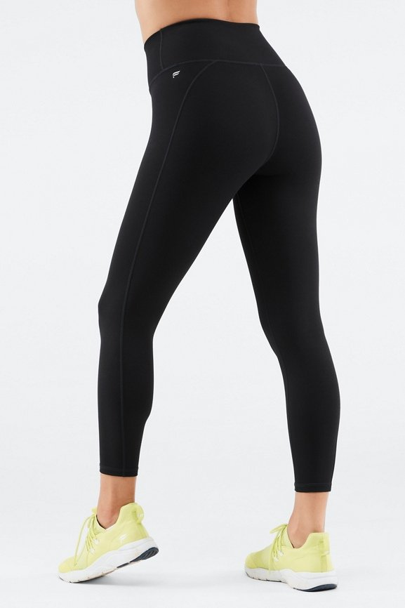 00cb0ef7701 High-Waisted Solid PowerHold® 7 8 - Fabletics