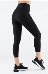 High-Waisted PowerHold® Capri - XL