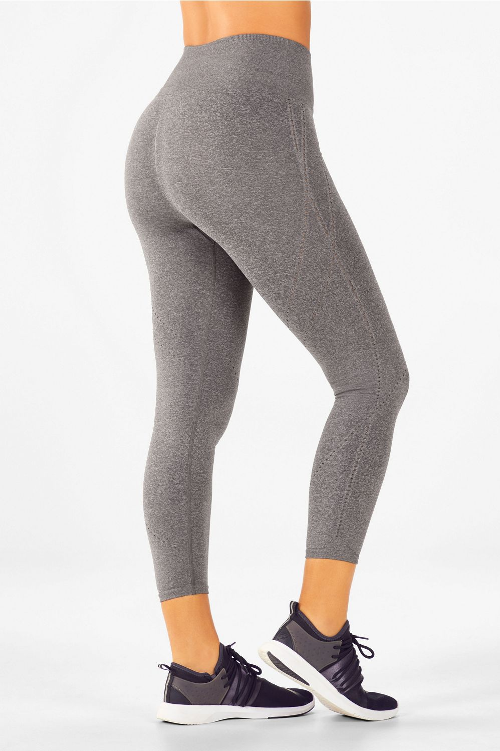 de28bba81c82e Seamless High-Waisted Statement Capri - Grey Heather