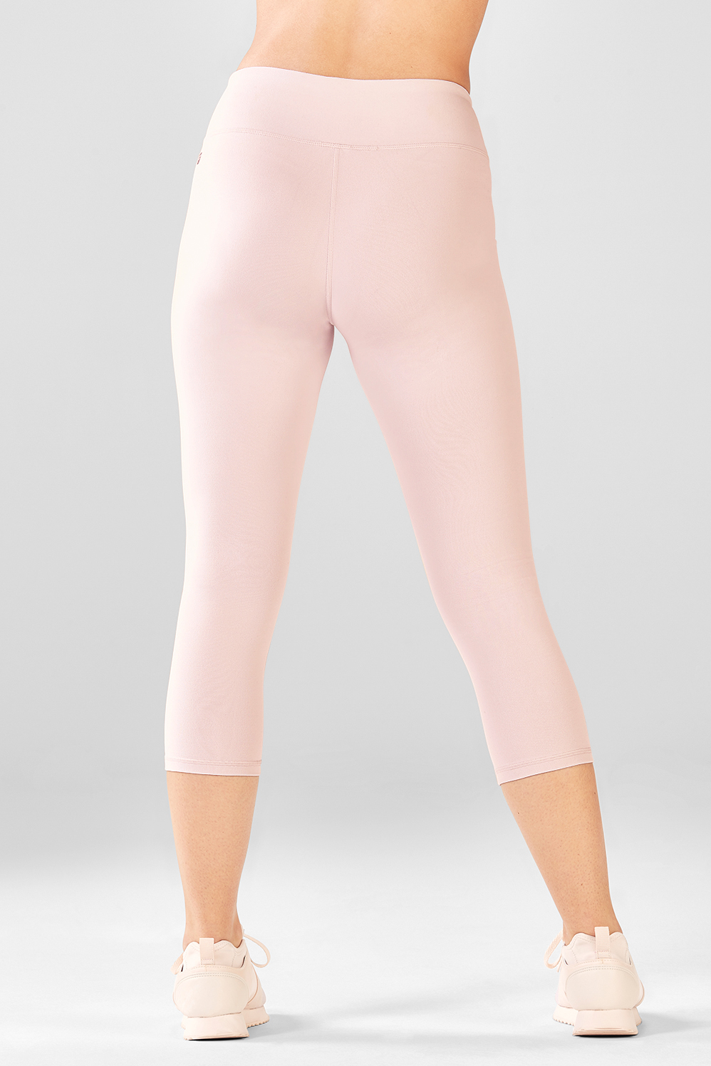Fabletics Fashion Salar Solid Powerhold® Crop Womens Pink Size XL Crop it like it's hot in this go-to compression style. We're donating a portion of proceeds from the sale of this style to To Write Love on Her Arms, a non-profit dedicated to helping people struggling with mental health. Moisture-Wicking Compression Fabric, UPF 50+, Internal Waistband Pocket for Key/Card, All-Way Stretch, Chafe-Resistant, Fabric Content. 86% Polyester/14% Elastane, Inseam. 23 , Rise. Mid, Fit. Maximum Compression