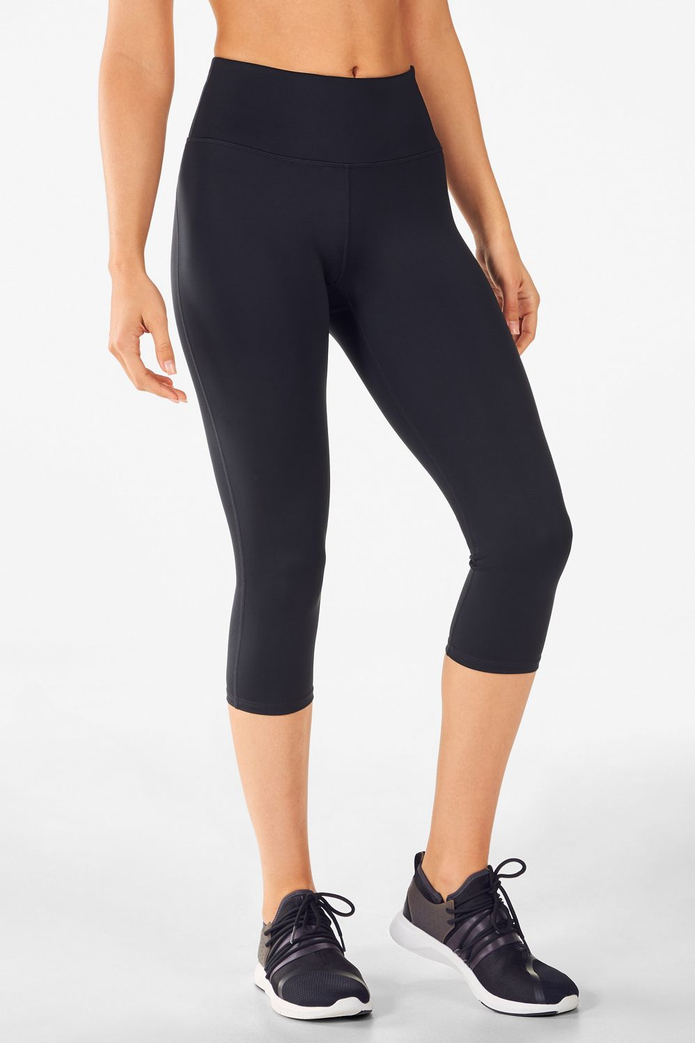 0b9f9d0655a High-Waisted Solid UltraCool Crop - Fabletics