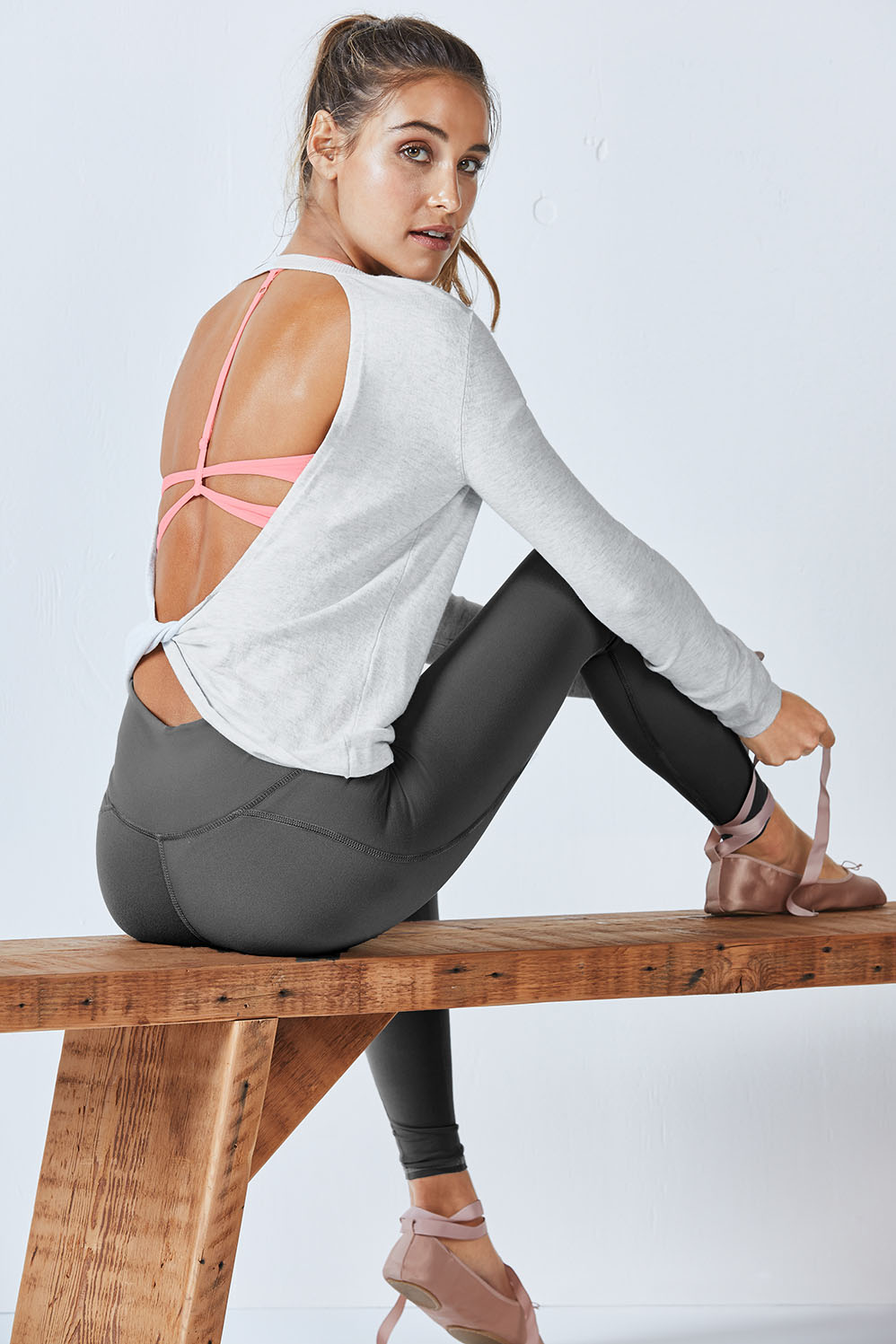 "Image of ""Fabletics Acro Womens Gray/Gray One Size Fits Most"""