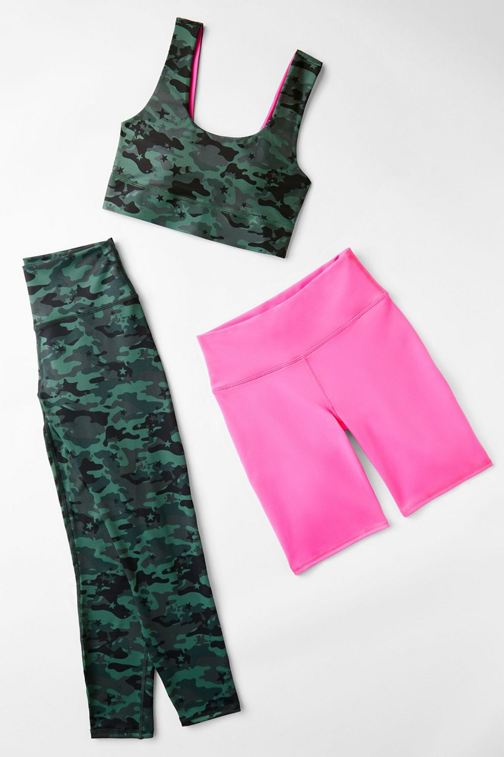 Camo Crush 3 Piece Outfit Fabletics