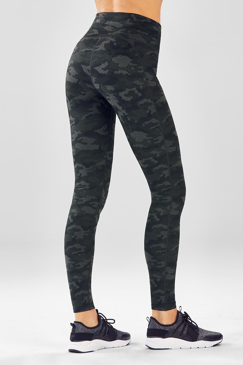2df32cda174d5 High-Waisted Printed Powerhold® Legging - Charcoal Camo