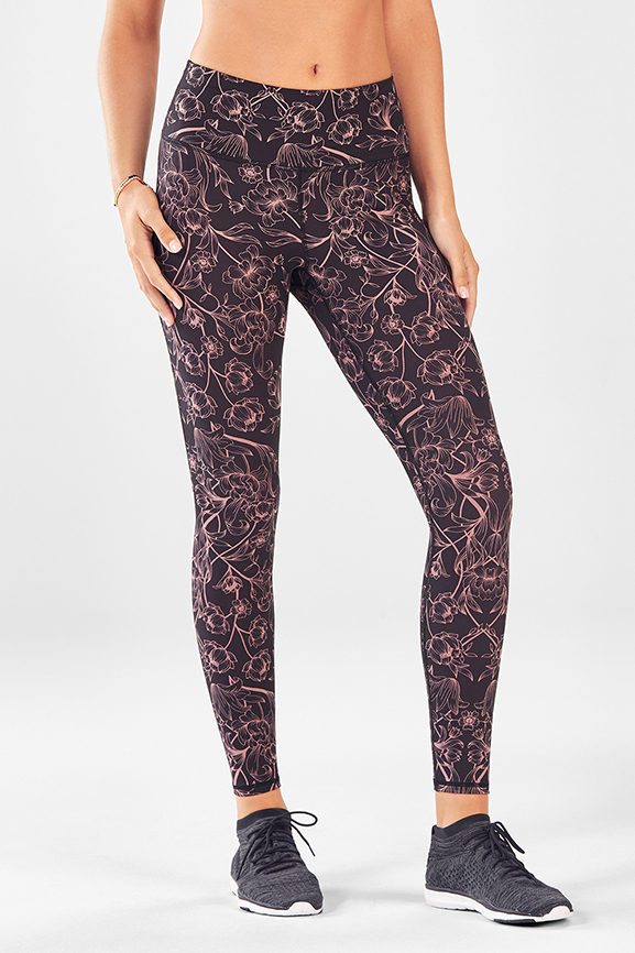 High-Waisted Printed Powerhold® Legging - Fabletics bb9a5960ca224