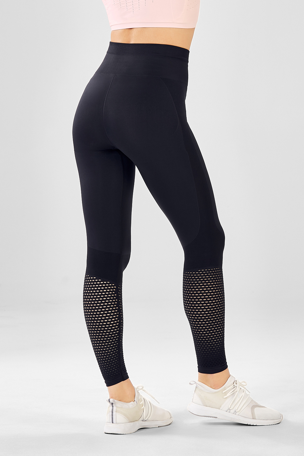 4852ac8a89e952 Seamless High-Waisted Mesh Legging - Fabletics
