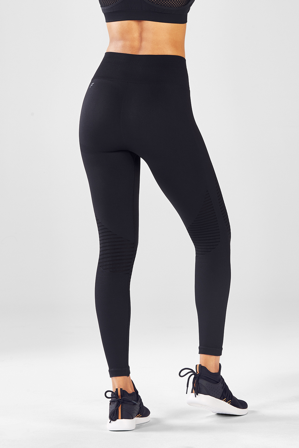 5a77bc4d38 Seamless High-Waisted Jaquard Legging - Fabletics