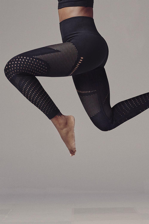 legging yoga ajouré
