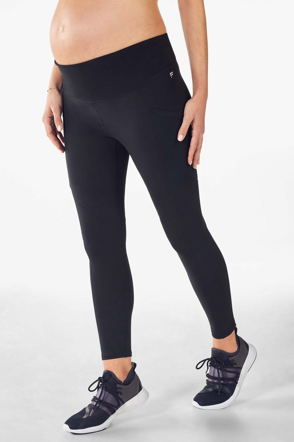 64a99ba095cb4 Maternity High-Waisted PureLuxe Pocket 7/8 - Fabletics
