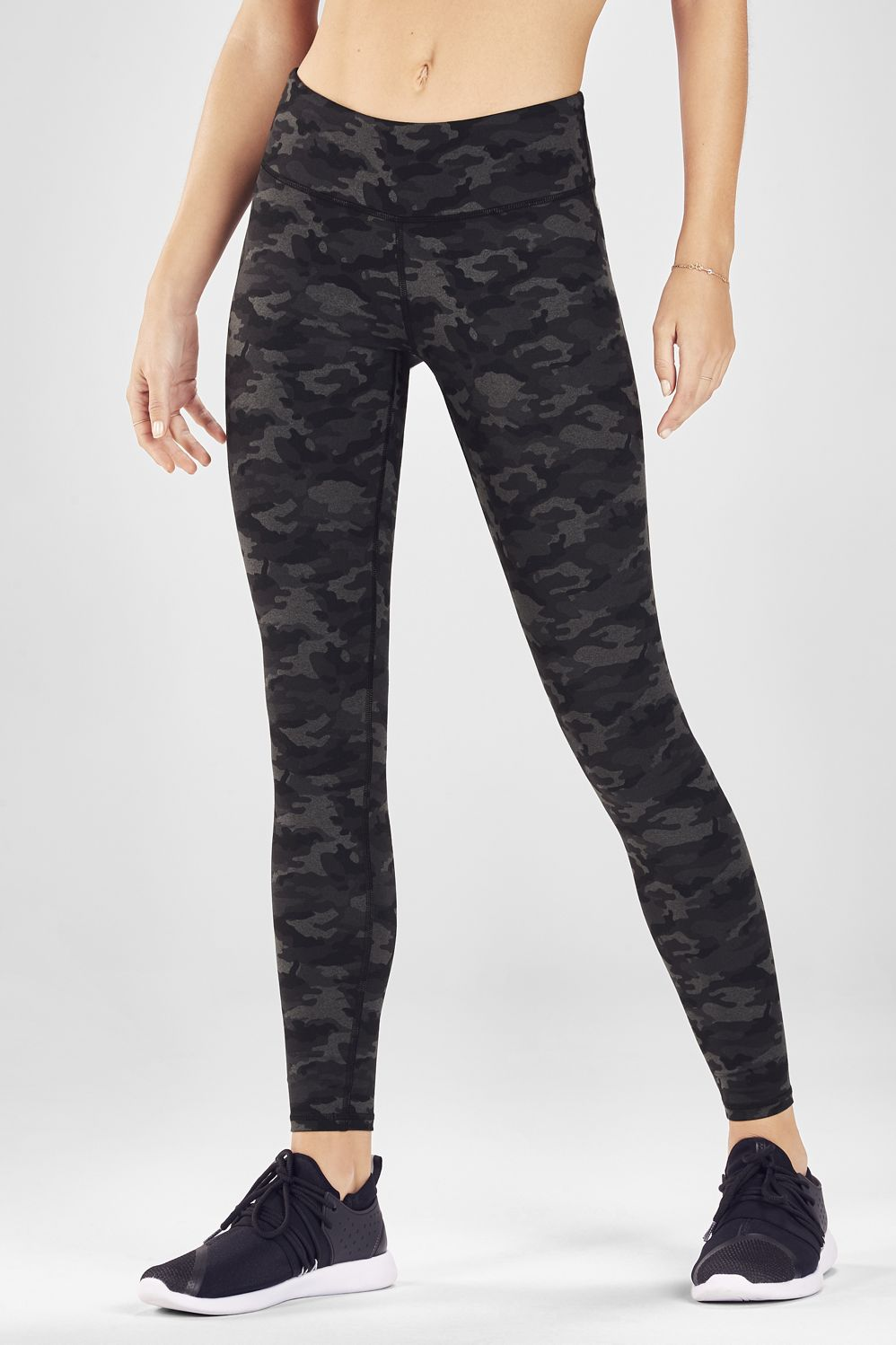 e5ec1218fbf82 Salar Printed Heathered Legging - Grey Heather Camo