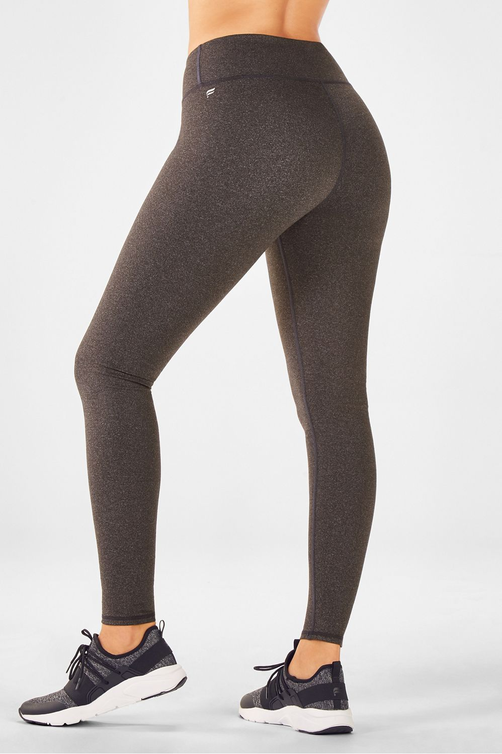 3994a2626e5d0 Salar Solid PowerHold® Leggings - Charcoal / Heather