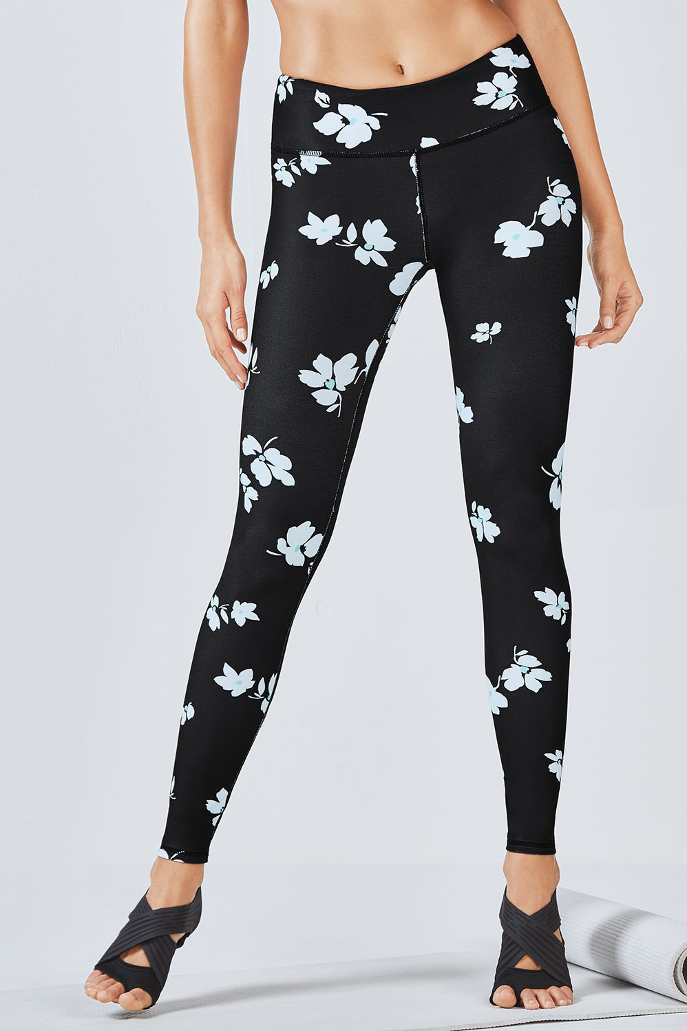 Salar Legging - Black Jasmine Print